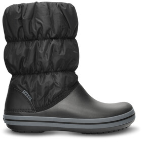 Crocs Winter Puff Saappaat Naiset, black/charcoal